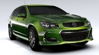 Holden Commodore SS Sportwagon VF Series II 2016 3D Model