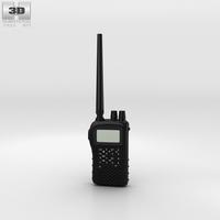 Police Radio 3D Model