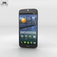 Acer Liquid Jade Black 3D Model