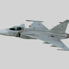 Jas-39 Gripen 3D Model