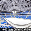 Winter Olympic Stadium 13000 seats 3D Model