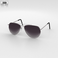 Police Sunglasses 3D Model