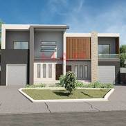 Exterior 3d rendering small