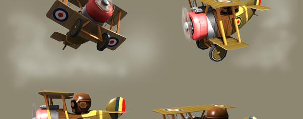 Biplane wide