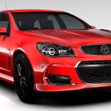 Holden Commodore SS V Redline Sportwagon VF Series II 2016 3D Model