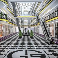 Shopping Mall interior 3D Model