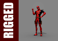 Deadpool (Rig) for Maya 1.0.0