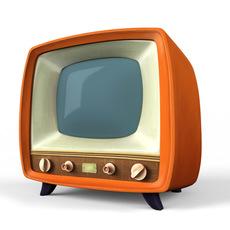 Stylized TV 3D Model