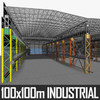 Industrial Interior 01 3D Model