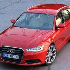 Audi A6 Avant 2013 3D Model