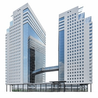 Modern Office Building 07 3D Model