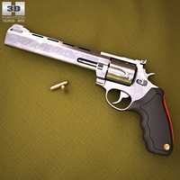 Taurus Raging Bull 3D Model
