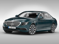 Mercedes Benz E Class (2017) 3D Model