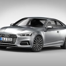 Audi A5 Coupe (2017) 3D Model
