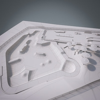 Skate park 3D Model