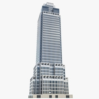 High-rise Office Building 01 3D Model