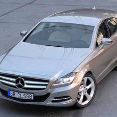 Mercedes Benz CLS Shooting Brake 3D Model