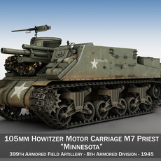 M7 Priest - Minnesota 3D Model