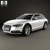 Audi A6 (C7) allroad quattro 2012 3D Model