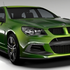HSV Clubsport R8 Tourer Gen F2 2016 3D Model
