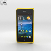 Acer Liquid Z200 Sunshine Yellow 3D Model