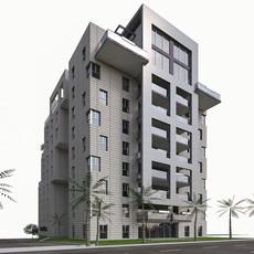 Residential Condominium Buildings 3D Model