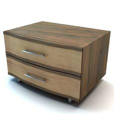 Bedside stand 3D Model