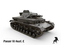 Panzer IV Ausf. E 3D Model