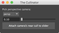 The Cullinator 1.0.0 for Maya (maya script)