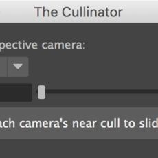 The Cullinator for Maya 1.0.0 (maya script)