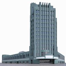 Wiltern Theatre - Pellissier Building 3D Model