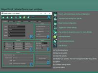 Free shaderSpace create shader toolset for Maya 1.0.2 (maya script)