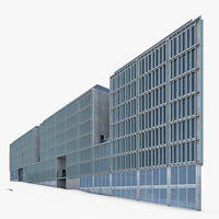 Office Building 04 3D Model