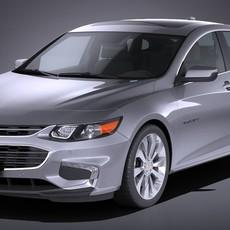 Chevrolet Malibu 2017 3D Model