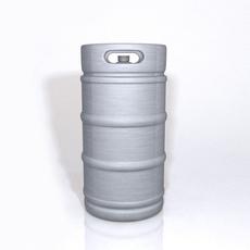 Beer Keg 3D Model