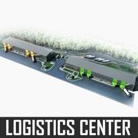Logistics Complex Center 3D Model