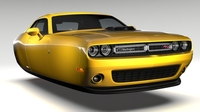 Dodge Challenger 392 Shaker (LC) 2016 Flying 3D Model