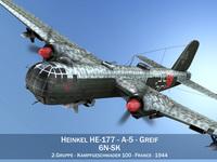 Heinkel He-177 - Greif - 6NSK 3D Model
