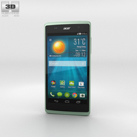 Acer Liquid Z500 Aquamarine Green 3D Model