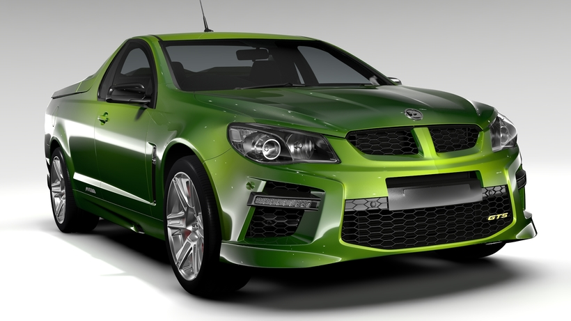 HSV GTS Maloo GEN F2 2015 3D Model