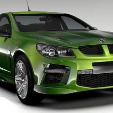 HSV GTS Maloo GEN F2 2015 3D Model