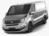 Fiat Talento 2016 Panel Van 3D Model