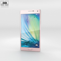Samsung Galaxy A7 Soft Pink 3D Model