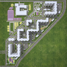 Urban Area 04 3D Model