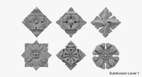 Architectural Ornament vol. 01 3D Model
