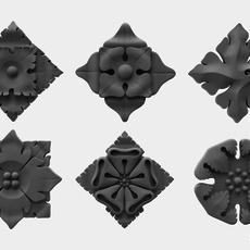 Architectural Ornament vol. 01 3D Model