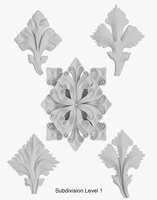 Architectural Ornament vol. 02 3D Model