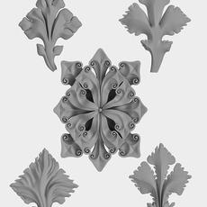 Architectural Ornament vol. 02 3D Model