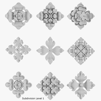 Architectural Ornament vol. 03 3D Model