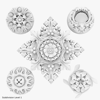 Architectural Ornament vol. 04 3D Model